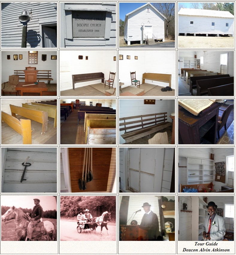 images from old bentonville church